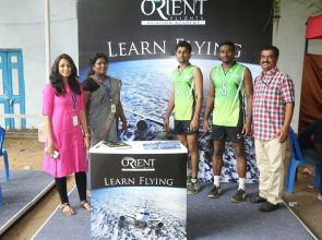 Orientflights Stall @ Corporate Sports Olympiad 2016
