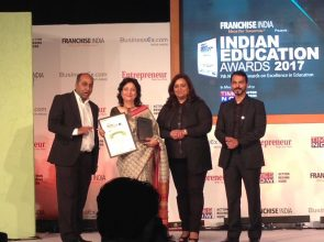 Best Institute of the Year in Aviation Training –  Indian Education Awards 2017