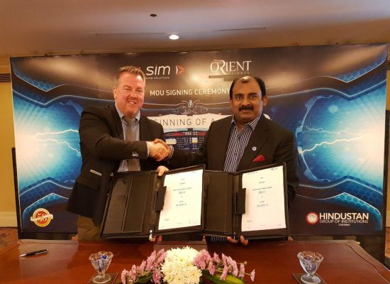 Orient Flights and ALSIM MOU