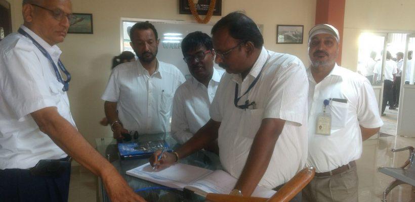 Aviation dignitary visits OFAA at Mysore